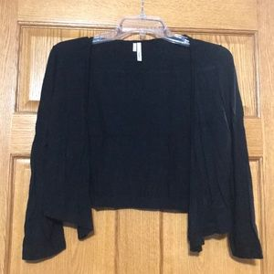 3/4 length crop cardigan